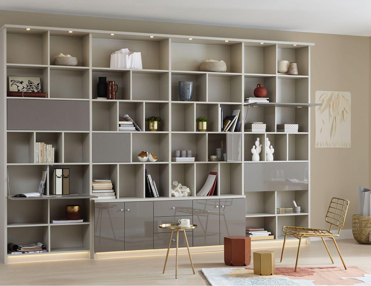 Bibliothèque sur mesure créée à Montréal par ADN Design