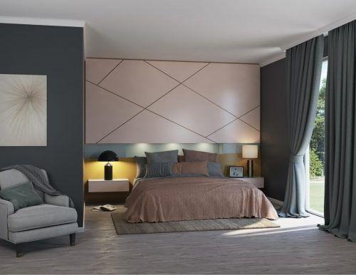 Meuble de chambre sur mesure haut de gamme créé par ADN Design à Montréal