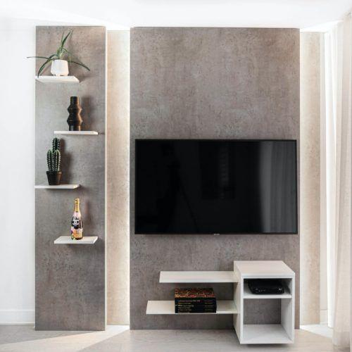 Meuble salon avec télé